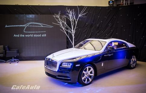 Vẻ đẹp hút hồn của Rolls-Royce Wraith vừa ra mắt tại Việt Nam