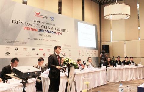 18 thương hiệu xe hơi quy tụ tại triển lãm Ô tô Việt Nam 2014