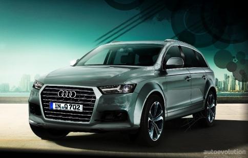 """Audi Q7 hoàn toàn mới """"hăm he"""" ra mắt vào đầu năm sau"""