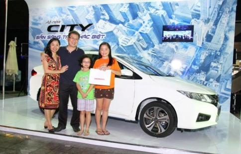 Cơ hội chiêm ngưỡng và trải nghiệm Honda City hoàn toàn mới