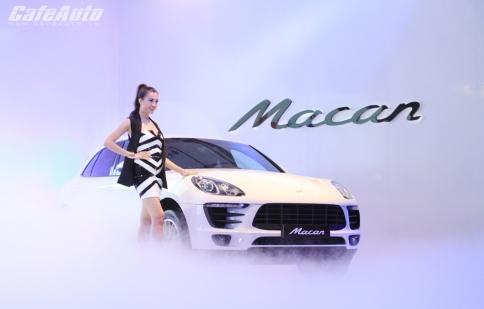 Porsche Macan chính thức ra mắt tại Việt Nam
