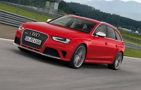 Audi RS 4 Avant cắt bỏ động cơ V8