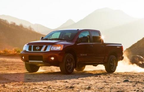 Nissan Titan có thêm động cơ diesel tăng áp