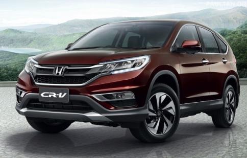 Honda CR-V 2015 chính thức đổ bộ Đông Nam Á, sắp về Việt Nam