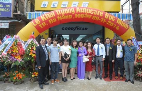 Goodyear ra mắt Autocare đầu tiên tại miền Trung