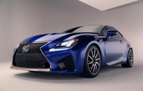 Lexus công bố giá bán RC Coupe