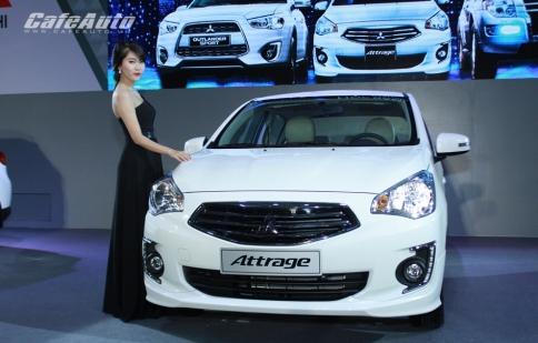 Mitsubishi giới thiệu cùng lúc 3 mẫu xe mới tại Việt Nam