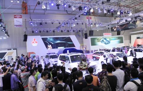 Toàn cảnh triển lãm Viet Nam Motor Show 2014
