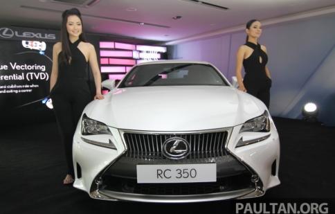 Lexus RC coupe ra mắt tại Malaysia