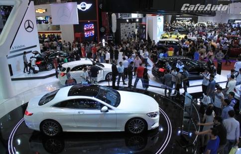 Trong 5 ngày có hơn 560 xe được bán tại Viet Nam Motor Show 2014