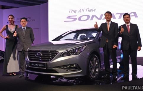 Hyundai Sonata LF ra mắt ở Malaysia, giá từ 850 triệu