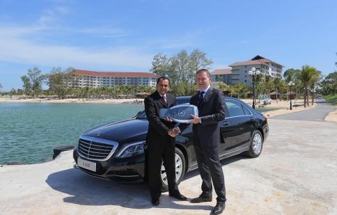 Mercedes-Benz Việt Nam bàn giao lô xe S 400 L cho Vinpearl Phú Quốc