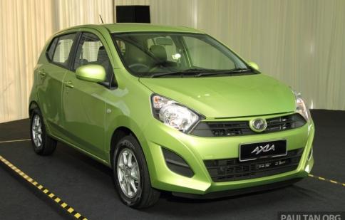 Chi tiết mẫu xe 150 triệu của Malaysia
