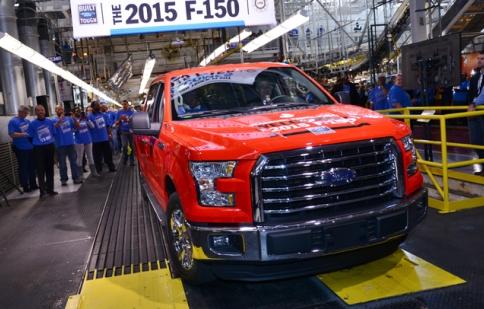 Giá nhiên liệu rẻ có thể làm giảm doanh số Ford F-150 2015?