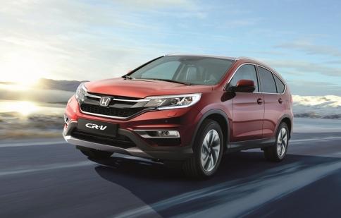 Honda ra mắt CR-V Facelifted ở châu Âu