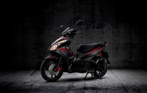 Honda ra mắt Air Blade FI màu đen mờ cực ngầu