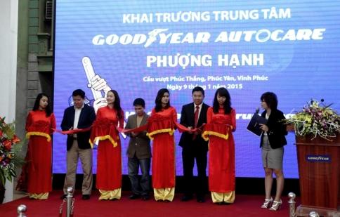 Goodyear ra mắt Autocare tại Vĩnh Phúc