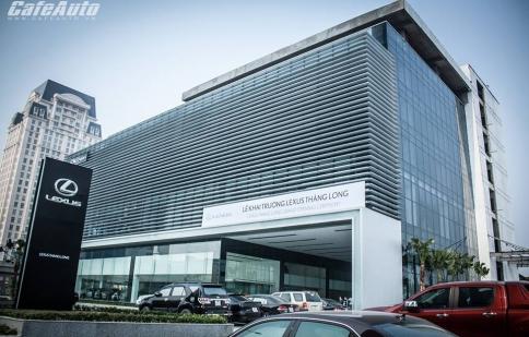 Lexus chính thức ra mắt đại lý đầu tiên tại Hà Nội