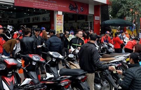 """Thị trường xe máy: Tết vẫn không """"nóng"""""""