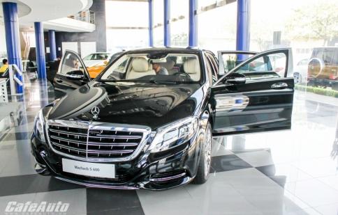 Cận cảnh xe 'đại gia' Mercedes-Maybach S600