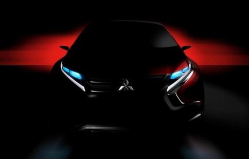 Mitsubishi tiết lộ hình ảnh mẫu xe mới