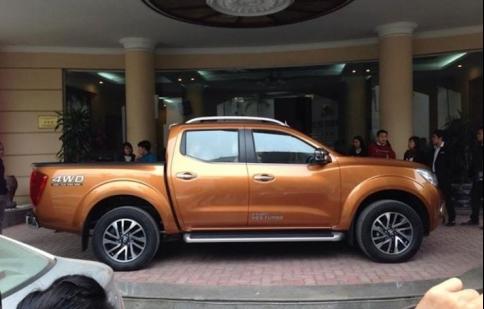 Nissan Navara 2015 đã về Việt Nam, chuẩn bị ra mắt