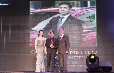 Tổng Giám đốc Ford Việt Nam nằm trong Top 100 Phong cách Doanh nhân 2014