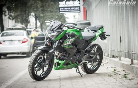 """240 triệu đồng """"quỷ nhỏ"""" Kawasaki Z250 có gì?"""