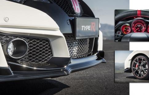 Công bố phiên bản sản xuất Honda Civic Type R