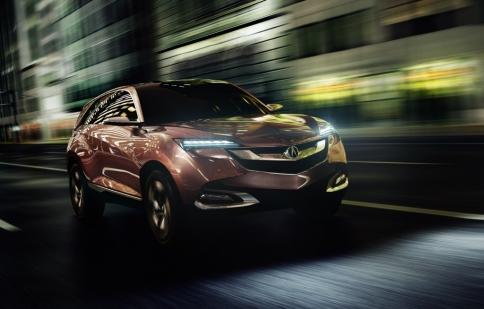 Acura lên kế hoạch cho dòng xe SUV mới