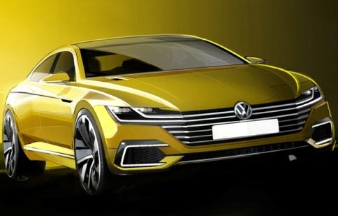 Volkswagen hé lộ bản phác thảo mẫu xe hoàn toàn mới
