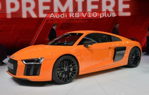 Geneva Motor Show 2015: Bộ ba Audi R8 thế hệ mới