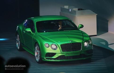 """Geneva Motor Show 2015: Cặp đôi Bentley gây bất ngờ ở """"Đêm Volkswagen"""""""