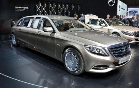Geneva Motor Show 2015: Mercedes-Maybach S600 Pullman siêu sang ra mắt