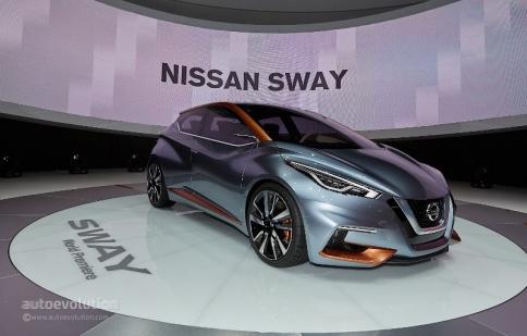 Geneva Motor Show 2015: Sway – tương lai mới của Nissan