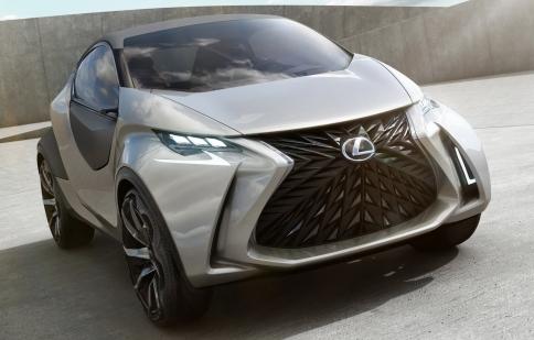 Lexus tung hình ảnh chính thức concept LF-SA
