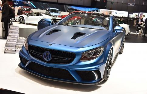 Mercedes S63 AMG, viên kim cương xanh 900 mã lực từ Mansory