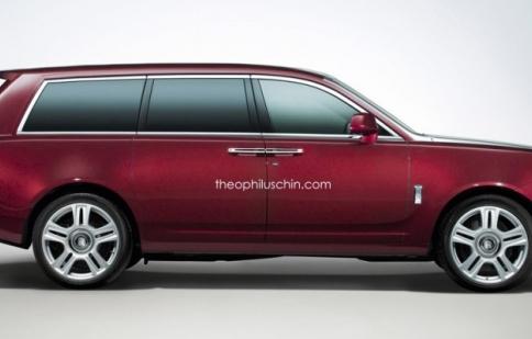 Ngắm bản vẽ đầu tiên của Rolls-Royce SUV