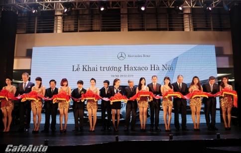 Showroom Mercedes-Benz thứ 4 của Haxaco khai trương tại Hà Nội