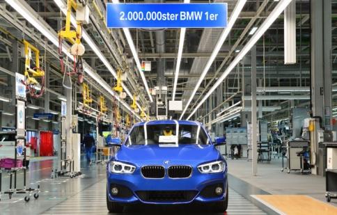 BMW sản xuất được 2 triệu chiếc 1 Series