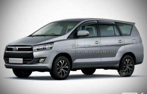 Chiêm ngưỡng Toyota Innova sắp làm nóng thị trường 2016