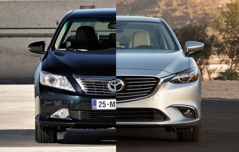 Mazda 6 liệu có soán ngôi vương Toyota Camry tại Việt Nam?