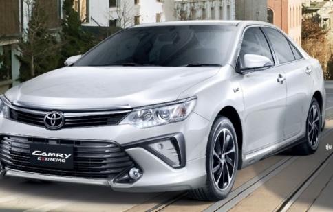 Toyota cập nhật phiên bản mới cho Camry tại Thái Lan