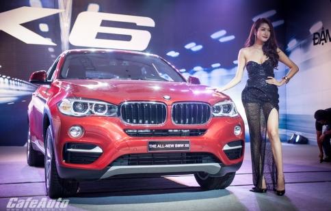BMW X6 2015 ra mắt tại Việt Nam, giá từ 3,389 tỷ đồng