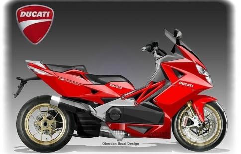 Ducati có thể sẽ sản xuất cả xe tay ga