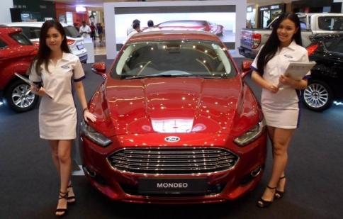 Ford Mondeo 2015 diện kiến Đông Nam Á