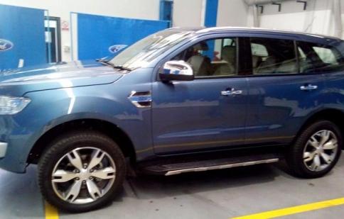 Ngắm trước Ford Everest 2016 sắp về Việt Nam