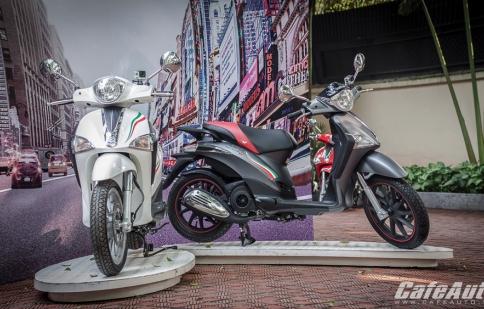 Piaggio Việt Nam ra mắt Liberty gắn kèm máy quay Gopro, giá không đổi