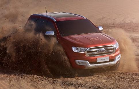 Ford Everest hoàn toàn mới chính thức đến thị trường Đông Nam Á