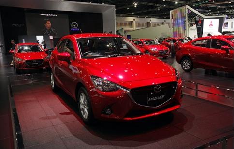 Mazda 2 thế hệ mới chính thức ra mắt tại Bangkok Motor Show
